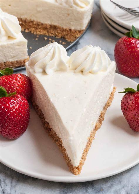 no bake cheesecake recipe simplyrecipes com