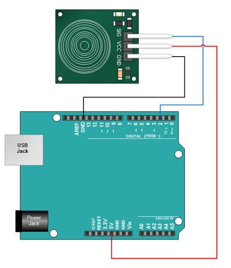capacitive sensor project catalex ttp223b touch sensor tutorial henry s bench