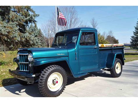 willys jeepster for sale 1955 willys jeep for sale classiccars com cc 1047349
