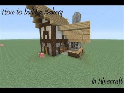 how to build a shop how to build a medieval bakery in minecraft youtube