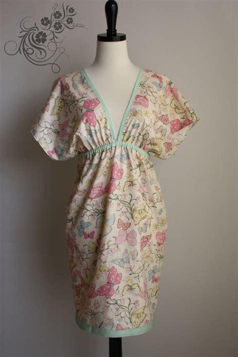 sewing pattern kimono dress butterfly kimono dress empire dress sewing projects