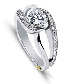 modern wedding rings contemporary engagement rings modern wedding rings