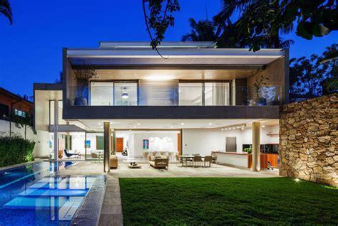 concrete  glass house interiorzine