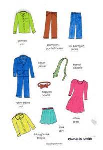 vocabulary clothes in turkish and azeri azerbaijani