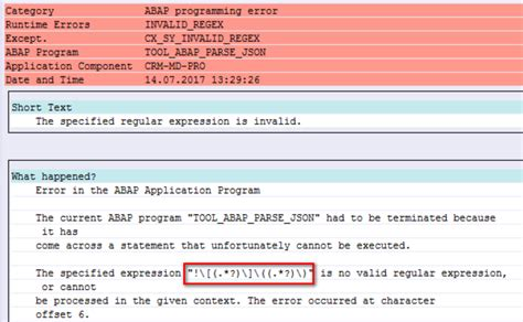 regex pattern abap use regular expression to parse the image reference in the