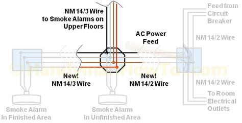 how to install smoke detector how to wire smoke detectors diagram wiring diagram and