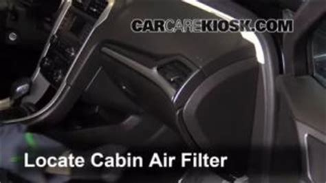Bad Cabin Air Filter by Transmission Fluid Level Check Ford Fusion 2013 2016