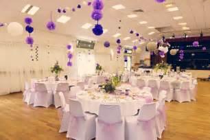 deco de chaise pour mariage d 233 coration de salle des f 234 tes mariage romantique parme mauve lavande violet lilas beige blanc