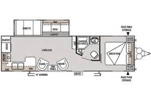 Wildwood Travel Trailer Floor Plans 2014 Wildwood 27rkss Floor Plan Travel Trailer Forest River