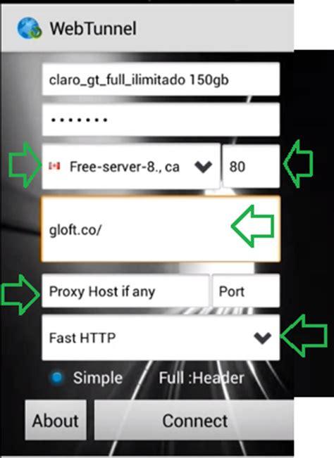 tutorial internet gratis android 2016 web tunnel claro guatemala internet gratis programa pc