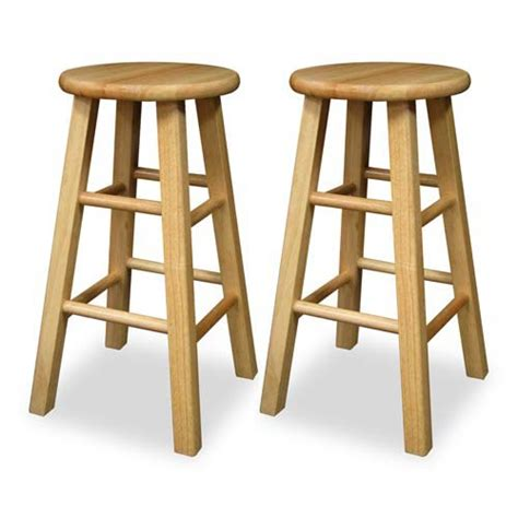 Wood Kitchen Stool by Kitchen Stool Bellacor