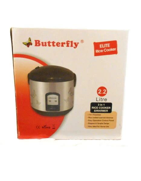 Quantum Rice Cooker 3 In 1 Rice Cooker 2 2 Litre By Elite Butterfly Brand Buy At The Asian Cookshop