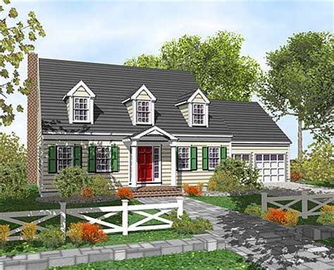 traditional cape cod house plans customizable cape cod classic 9554dm 2nd floor master suite bonus room cape cod