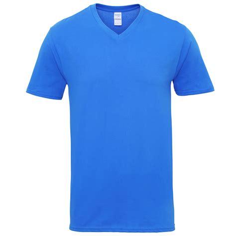 T Shirt Gildan Murah gildan mens premium cotton v neck sleeve t shirt ebay