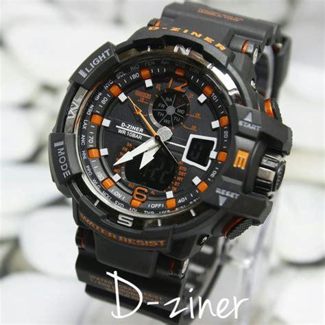 Harga Jam Tangan Merk D Ziner jual jam tangan d ziner dualtime original harga murah