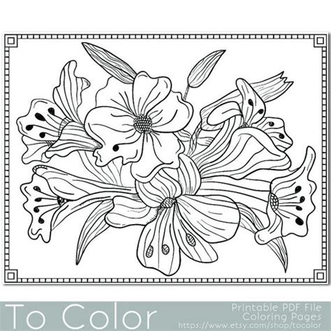 grown up coloring pages of flowers pinterest the world s catalog of ideas
