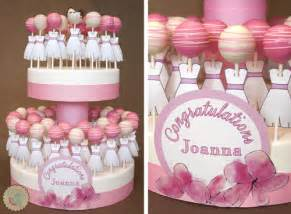 lottie and lil 187 classic pink and white bridal cake pops
