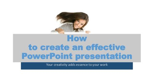 design effective powerpoint presentation how to create effective powerpoint presentation