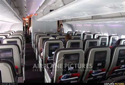 A330 Interior by B 18391 China Airlines Airbus A330 300 At Taipei