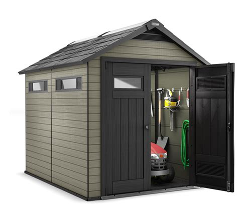 Sears Tool Shed by Craftsman 7 5 Quot X 9 Wood Plastic Composite Storage