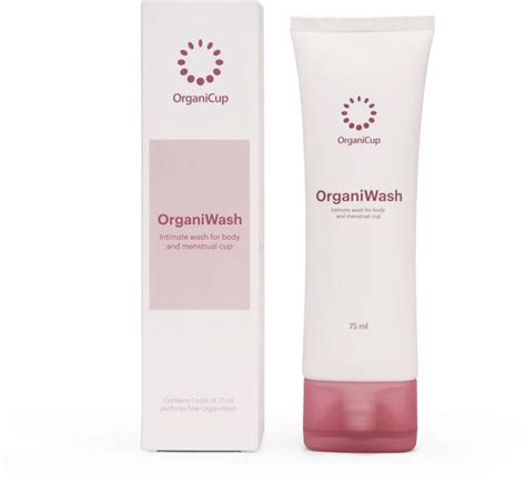 Wash Cleansing Gel Repack 75ml organiwash intimate wash cleanser in 75ml from organicup