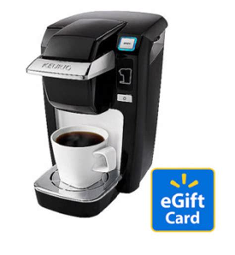 keurig mini plus personal coffee brewer 99 20 walmart gift card bargainbriana - Walmart Keurig Gift Card