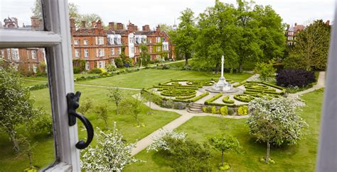 College Gardens by Visiting The Gardens Newnham College