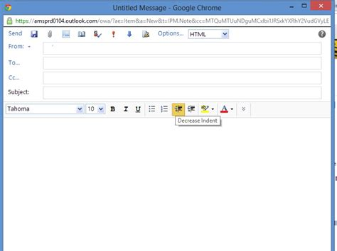 How Do I Send A Piece Of Html In Outlook Web Access Web Applications Stack Exchange Email Template Background Image Outlook