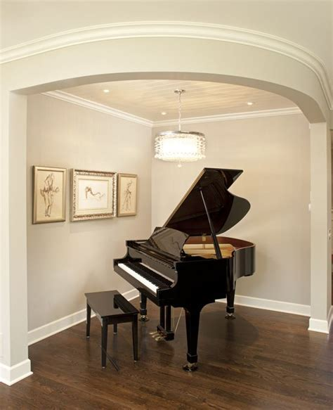 piano in room small space baby grand piano view for visualization of the nook space on the side i