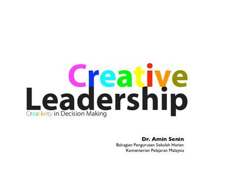 Leadership 3 In 1 M creative leadership