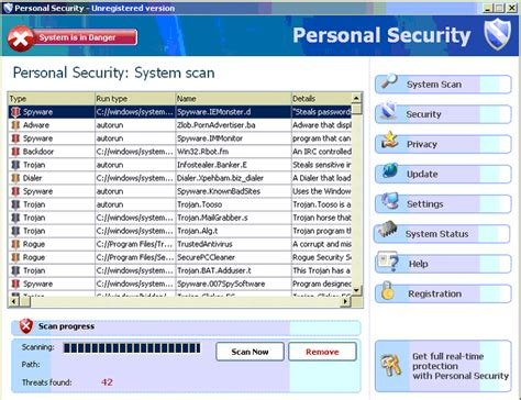 How To Remove Personal Security Virus From Windows