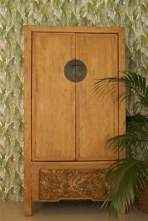 armario oriental armario oriental antiguo labrado el globo muebles