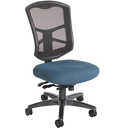 office master ysym yes series ergonomic mesh back high chair