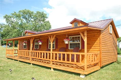Amish Pre Built Cabins by Amish Prebuilt Fully Assembled Cabins Delivered Rustic