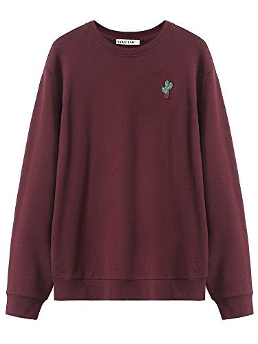 Dms Cp Forever Maroon small maroon sweater