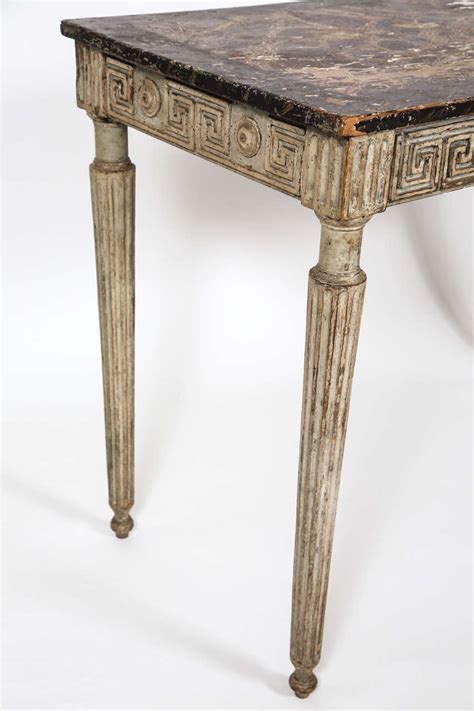 greek key table l italian console table with greek key detail at 1stdibs