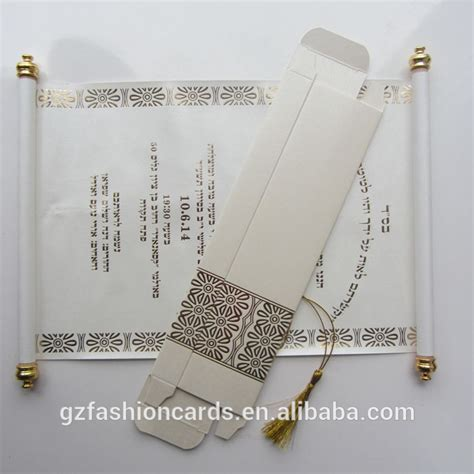 Wedding Invitation Card Roll by Royal Decree Scroll Invitations Sc006 Newest Wedding Cards