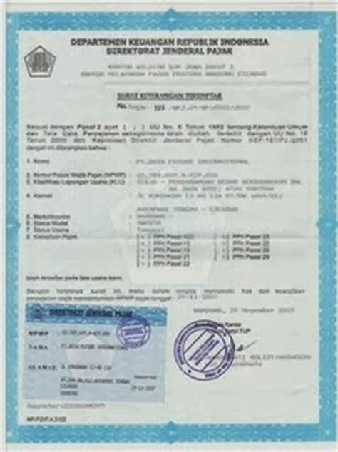 free formulir pendaftaran pkp software