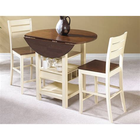 Pub Kitchen Table Sunset Trading Cascade 3 Espresso Pub Table Set Bar Pub Tables At Hayneedle