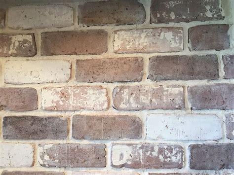 diy clay bricks do it yourself brick veneer backsplash white wash brick