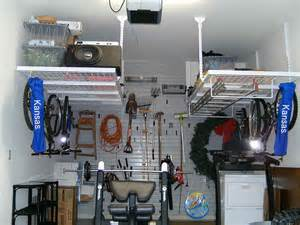Garage Organization Overhead Ideas Garage Overhead Shelving Ideas Looking For Garage