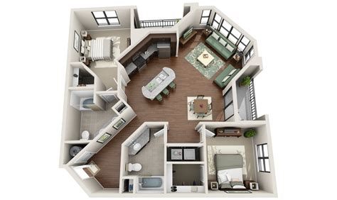 3d apartment floor plans 3dplans