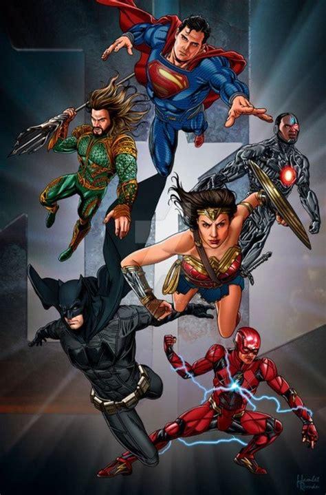 Poster Justice League Aquaman 21 Ukuran 60x90cm Fanart Justice League Poster By Hamletroman Dc Cinematic