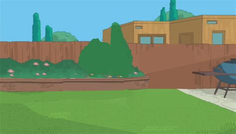 Phineas And Ferb Backyard by S Backyard By Pnfbackgrounds On Deviantart