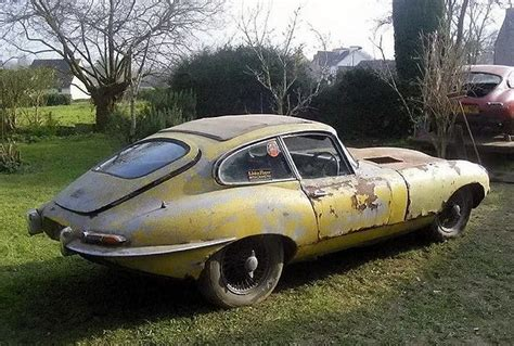 Jaguar Auto Alt by Jaguar E Type Barn Find Derelict Garage