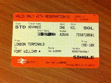 Sleeper Class Ticket a view to a kilt 171 robert hton