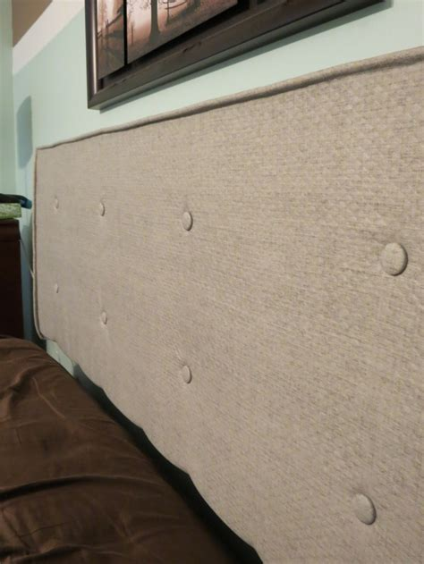 diy styrofoam headboard diy headboard wooden frame with foam upholstered in