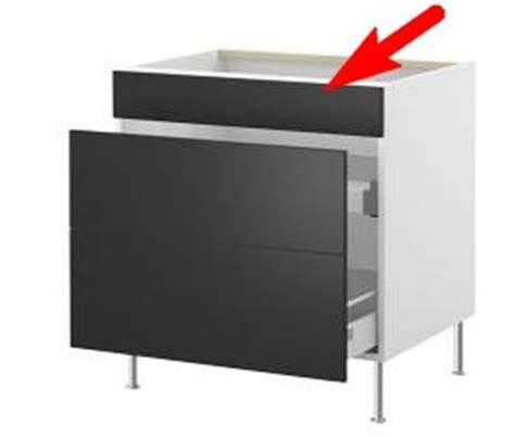 Comment Fabriquer Un Meuble Sous Evier by Finest Ikea Faktum Montage Faux Tiroir Vier With Comment