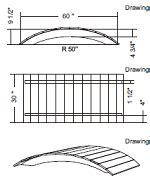 footbridge plans how to build garden footbridge plans pdf plans