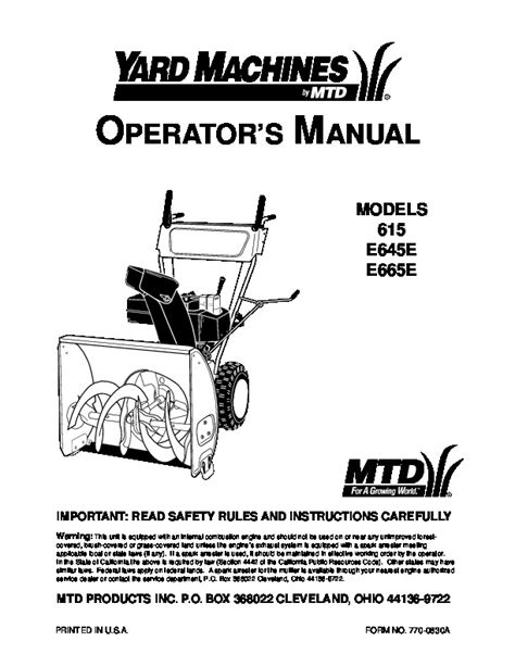 yard king snowblower parts diagram wiring diagrams